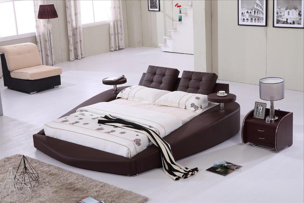 nowoczesne ekskluzywne łóżko