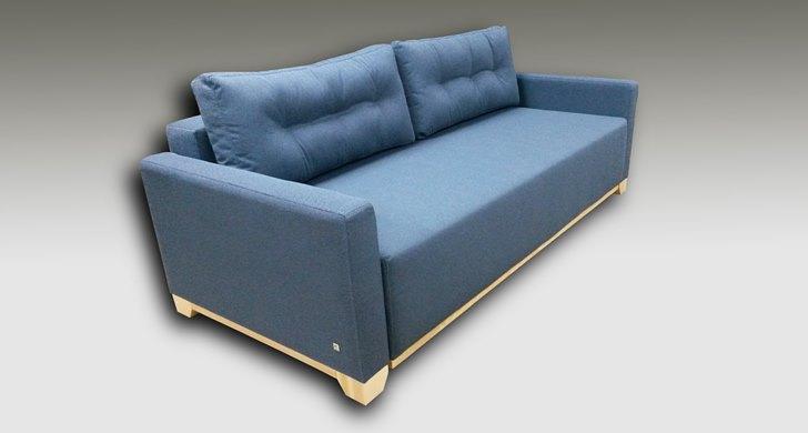 sofa niebieska